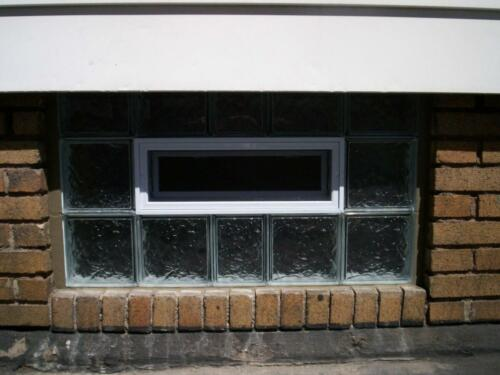 Vented Ice Pattern Window