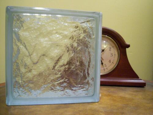 Ice Pattern Glass Block