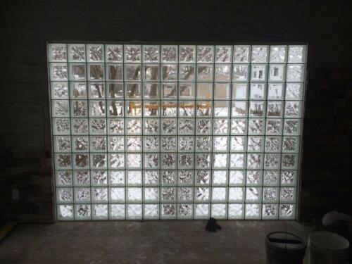 glass block facebook